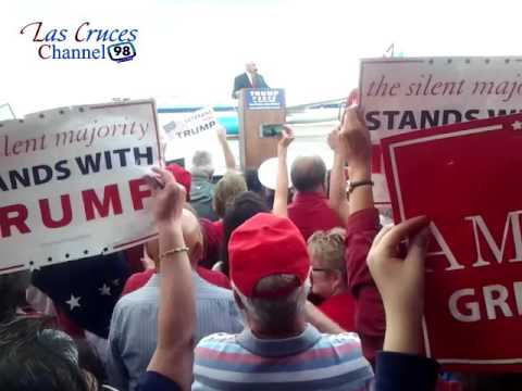 Donald J Trump! Gets support from Las Cruces, New Mexico