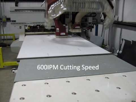 Cutting Dupont Corian At 600ipm With A