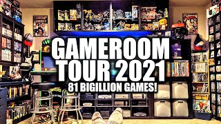 Totally Epic Game Room Tour 2021!