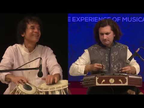 Ustad Zakir Hussain and Rahul sharma - #Tabla and #Santoor