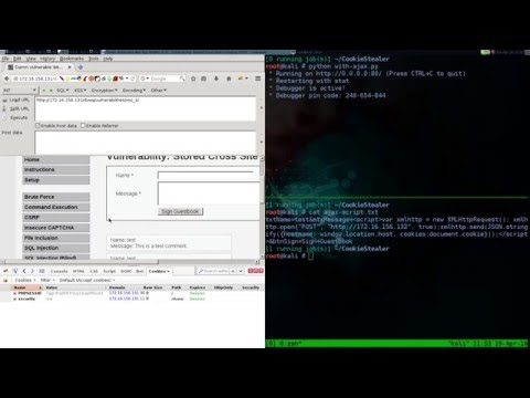 XSS Session Hijacking Part I · solstice sh