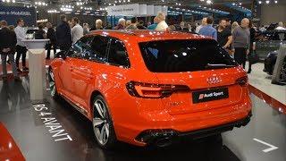 Audi RS4 Avant (B9) - Vienna Autoshow 2019