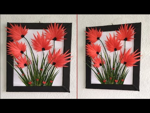 DIY Wall hanging ideas// DIY Room decor// Beautiful handmade photo frame