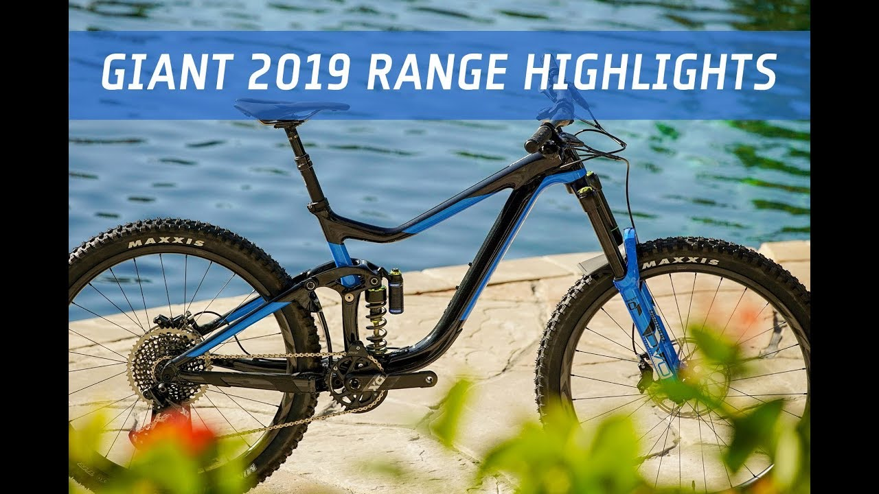 giant 2019 mtb range highlights flow mountain bike youtube. Black Bedroom Furniture Sets. Home Design Ideas