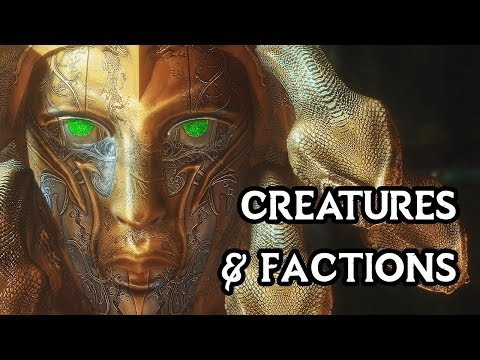 Skyrim With 1326 Mods - Ultimate Mod List 2020 - Creatures & Factions
