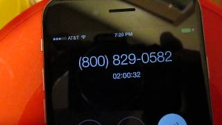 2 hours on hold with IRS
