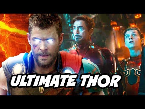 Avengers Infinity War Ultimate Thor Weapon Breakdown