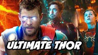 Avengers Infinity War Ultimate Thor Weapon Breakdown