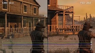 Red Dead Redemption: Xbox 360 vs PS3 Frame-Rate Test
