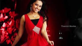 Sri Divya Beautiful Red Dress Photo Shoot