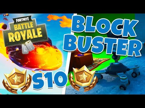 BLOCKBUSTER CHALLENGE GUIDE - WEEK 5 SEASON X | FORTNITE BATTLE ROYALE
