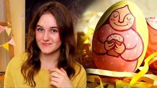 DIY | Пасхальные яйца, роспись акрилом....
