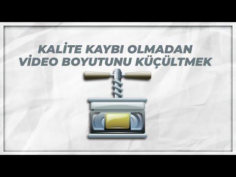 Kalite Kaybı Olmadan Video Boyutunu Küçültmek