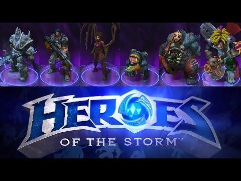 видео: heroes of the storm | Все персонажи ✔ Все герои blizzard all-stars и их цена