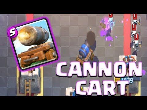 Clash Royale Greek - cannon cart challenge!!!