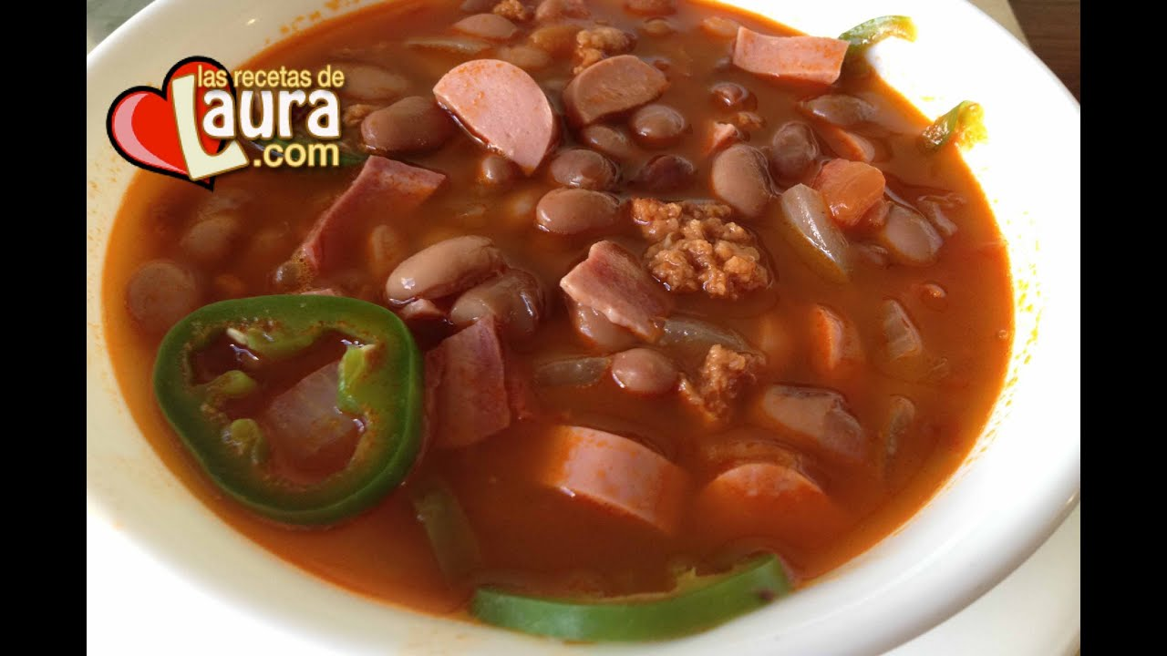 ingredientes frijoles charros