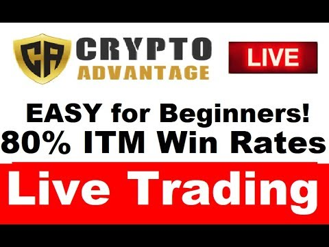 Crypto Advantage Review: NEW RESULTS! Super EASY Profits! (80% ITM Wins)