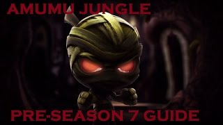 How to jungle Amumu season 7 pre-season!