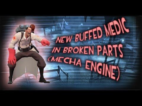 TF2 - MvM: Buffed Medic in Broken Parts