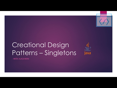 java-design-patterns-tutorial-4---creational---singleton---enum-and-serialization