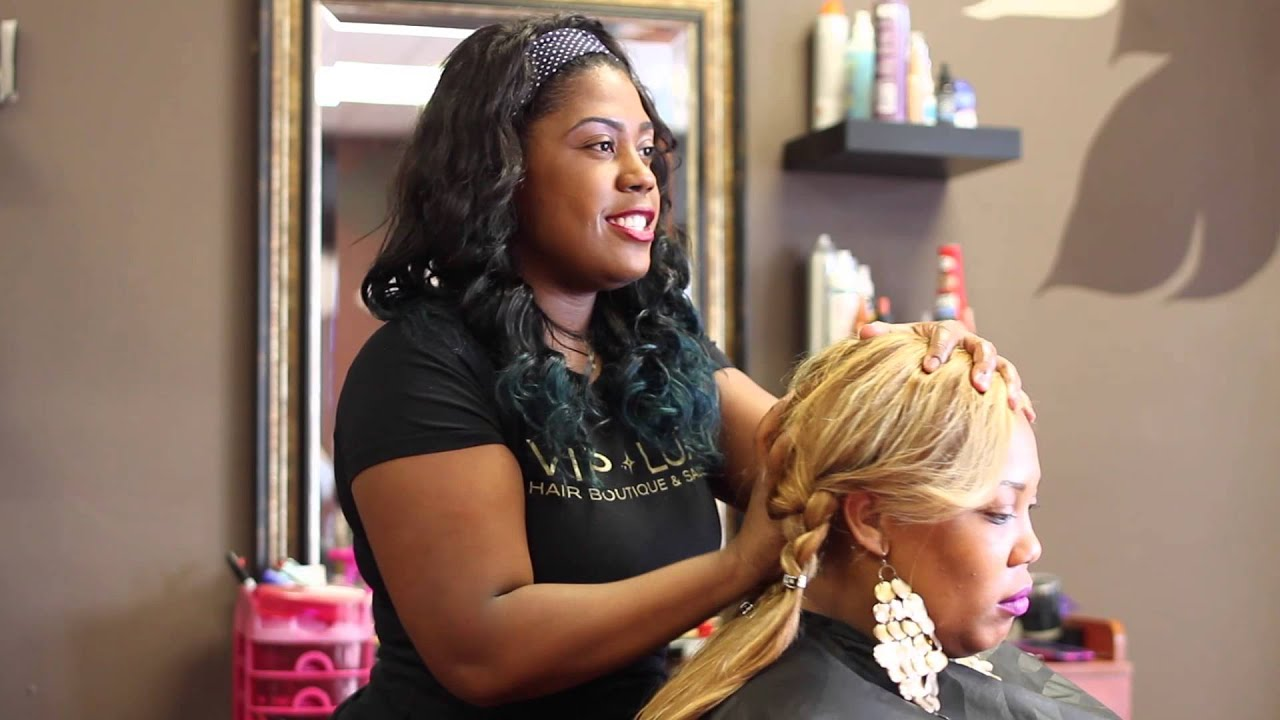 How To Grow Your Hair Under Weave Hot Oil Treatment With Weave For