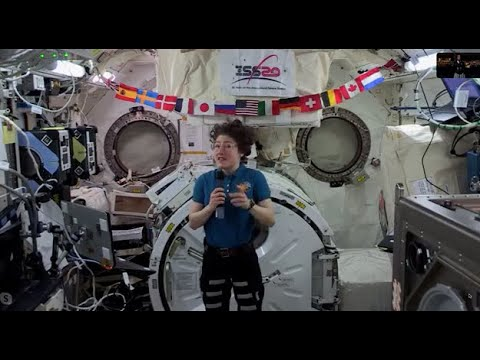 NASA/ISS Expedition 61 Inflight event with Second Baptist School   December 13, 2019