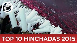 TOP 10 Hinchadas 2015 -  Latin American Football