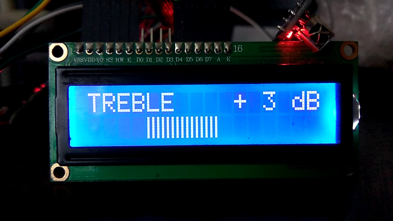 TDA8425 + энкодер + пульт + STANDBY + часы(DS3231) Arduino