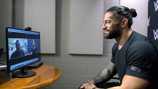 Roman Reigns recognizes a teacher who traveled the U.S. to teach his students virtually