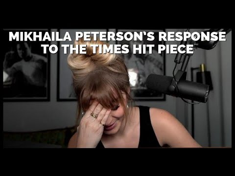 Mikhaila Peterson's Response to The Times Article (and subsequent articles)