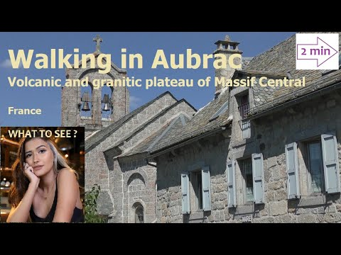 WHAT TO SEE : Aubrac, volcanic and granitic plateau, France (2 Minutes in Europe Collection)