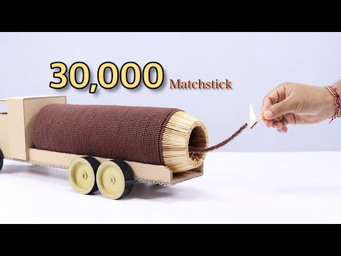Tim Palmer - Truck Powered By 30,000 Matches!
