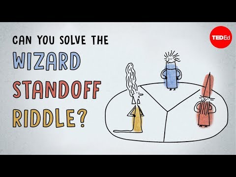 Video image: Can you solve the wizard standoff riddle? - Daniel Finkel