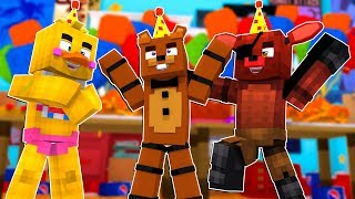 Freddy Fazbear's BIRTHDAY Party! | Minecraft FNAF Roleplay