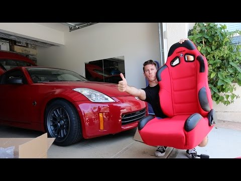 Racing Seats in the 350z - Install!