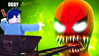 Oggy Took Scariest Cart Ride | In Roblox | With Jack | Rock Indian Gamer |