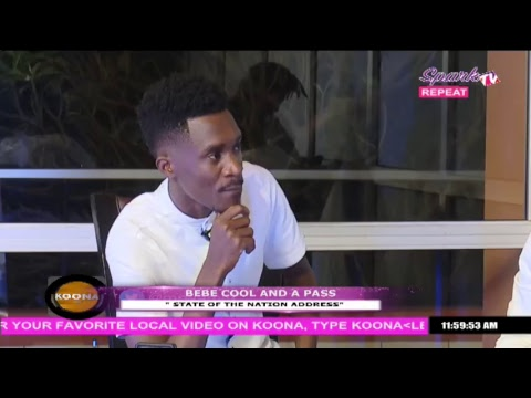 Bebe Cool and Apass face off live on Spark Tv Uganda