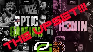 [UPSET] Ronin  vs Optic Gaming | FULL MATCH! | Las Vegas | Season 2 Tournament | April 8, 2018