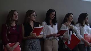 Giurano i nuovo camici bianchi: entusiasmo e passione /VIDEO