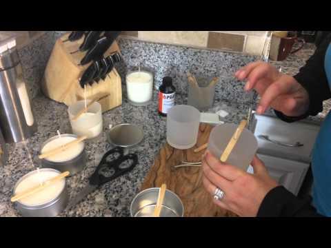 DIY Candles at Home