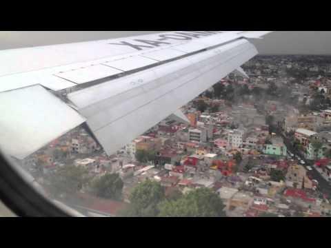 Aterrizaje Ciudad de México - Aeroméxico - Boeing 767-200 (SCL-MEX)