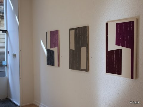 Guillaume MOSCHINI ● exposition personnelle œuvres récentes ● Galerie Oniris ● avril 2014