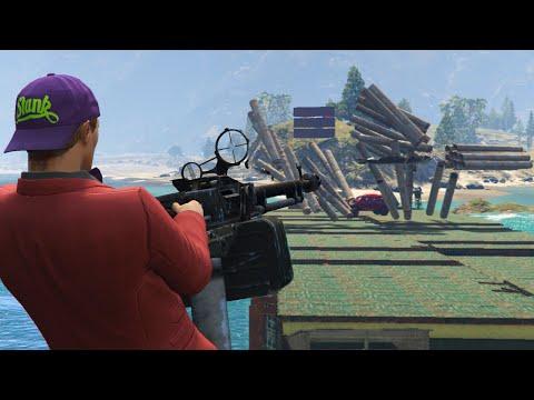 ATTACKERS Vs DEFENDERS! (GTA 5 Online)