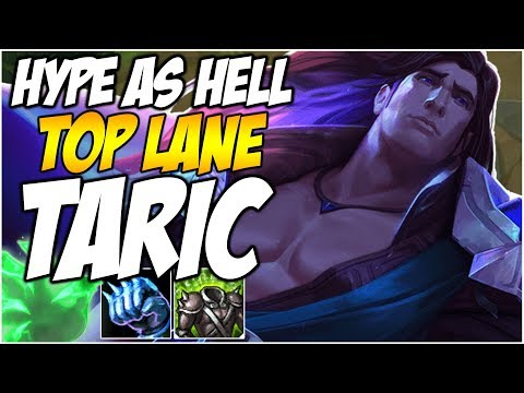 TARIC TOP IS HYPE AS HELL - BREAKING THE META  | League of Legends