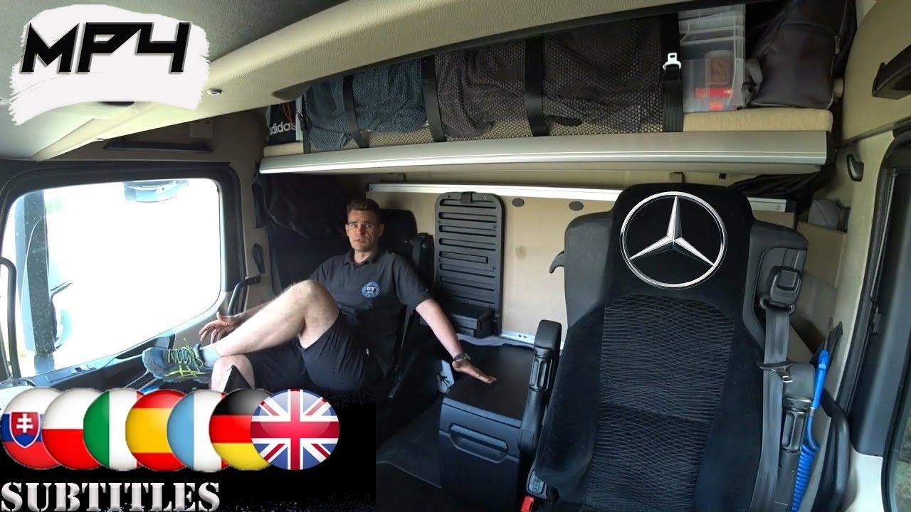 Mercedes Actros Mp4