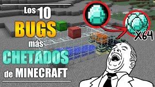 Los 10 bugs más CHETADOS de Minecraft