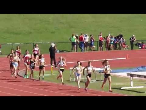800M Final U16W Isabella Schofield 2:27.30 DownUnder Sports 2016 T&F Gold Coast