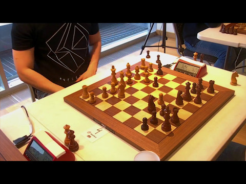 GM Hansen Eric - GM Bok Benjamin, Rapid chess, Tal memorial, Sicilian defence