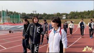【AthleticAveCam】立命館大 女子短距離チーム 山中日菜美 壱岐いちこ