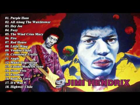 Top Jimi Hendrix Songs 2017    Jimi Hendrix Best Of Tracks [Best New Cover]